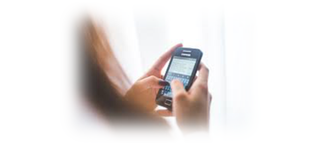 Cell phone-supported Cognitive Behavioural Therapy